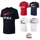 Nike Mens Short Sleeve Just Do It Swoosh Graphic Active T Shirt