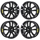 17 CHEVROLET SONIC GLOSS BLACK WHEELS RIMS FACTORY OEM SET 2017 2018 2019 5791