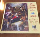 Sealed SunsOut 1000 Piece Puzzle Called Old World Nativity