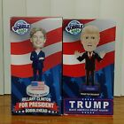 Donald Trump  Hillary Clinton For President Limited EDITION All Bobble Heads
