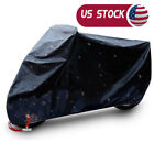 XXL Motorcycle Cover Bike Waterproof For Harley Davidson Outdoor Rain Dust Large