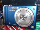 BLUE PANASONIC LUMIX DMC- ZR1 12.1MP ARGE 8X OPTICAL- V.G.C.