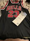 Michael Jordan Upper Deck UDA (1998-1999) Retirement Season Autographed Jersey