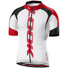 LOOK Pro Team Short Sleeve Mens Cycling Jersey White red