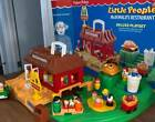 VINTAGE FISHER PRICE LITTLE PEOPLE MCDONALDS 2552 CUSTOM with LOTS OF EXTRAS