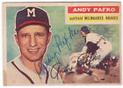 Andy Pafko Cards and Autograph Memorabilia Guide 31