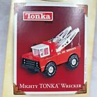 Die-Cast Metal Handcrafted Mighty TONKA Wrecker Truck Hallmark Ornament 2005 MIB