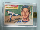 2016 Topps Archives Signature Series Sandy Koufax 1956 Buyback Auto #1 1 Dodgers