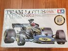 TAMIYA 1/12 TEAM LOTUS TYPE72D1972 BIG SCALE SERIES ETCHED PARTS INCLUDED RARE!!