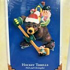 Hallmark Keepsake Christmas Ornament Hockey Thrills Nick and Christopher 2005