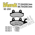 1999-2008 Honda VT125C Shadow Vesrah Sintered Metal Brake Pads [Front ]
