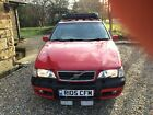 Volvo V70 xc red 1998 4x4 roof rack tow bar ac heated seats cruise control e