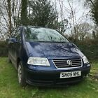 VW Sharan 19tdi 2005 spares or repairs