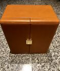 SCATOLA DEL TEMPO Brown Leather 6 Large Automatic Watch Winder Box