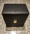 SCATOLA DEL TEMPO Black Leather 9 Large Automatic Watch Winder Box