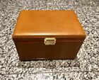 SCATOLA DEL TEMPO Brown Leather Nr.703 3 Automatic Watch Winder Box