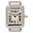 Cartier Tank Francaise W51007Q4 Stainless Steel Cream dial 20mm Quartz watch