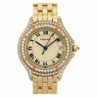 Cartier Cougar  18k Cream dial 26mm Quartz watch