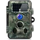 Apeman Trail Camera 12MP 1080P HD Wildlife 130° Wide Angle Lens 120° 42