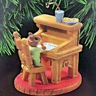 HALLMARK WISH LIST 1995 CHRISTMAS KEEPSAKE ORNAMENT MOUSE LETTER TO SANTA IN BOX
