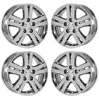 17 DODGE GRAND CARAVAN PVD CHROME WHEELS RIMS FACTORY OEM 2335 EXCHANGE