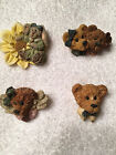 BOYDS BEARWEAR PINS......4 of my personal favorites!