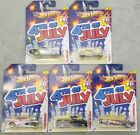 Hot Wheels 2012 4th of July 62 chevy Kroger Exclusive 5 Car Series Complete Set