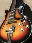 TEISCO 1960's ELECTRIC GUITAR Hollow Body JAPAN