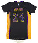 KOBE BRYANT Autographed Los Angeles Lakers Black Authentic Jersey PANINI