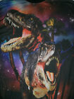 Mens XL Chemistry Mesh Front Graphic T Shirt Great Colors Dinosaurs Jurassic