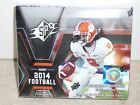 1 box 2014 SPx Hobby Football with 10 packs and 5 cards per pack, New
