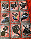 9 Gothic Halloween Craft Cards No Protector Scrapbook Card Craft Making