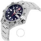 Wenger Swiss Army  Men's 79314 Battalion Day and Date Watch dark blue face