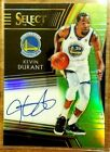 KEVIN DURANT 2018-19 PANINI SELECT GREEN REFRACTOR AUTO AUTOGRAPH # 35 WARRIORS