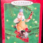 TOYMAKER SANTA no. 1 2000 Hallmark Ornament Train QX6751, New