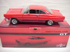 FAIRLANE #1 CANDY APPLE RED 1967 390 V8 FORD GT HT 1/18 GMP #8081 rare car