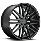 4Rims 22 Staggered Niche Wheels M164 Anzio Gloss Black Rims CA
