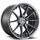 4Rims 19 Staggered Niche Wheels M197 Sector Gloss Anthracite Rims CA