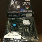 ASUS PRIME Z270 A LGA1151 Intel Motherboard i3 CPU Combo Kit with 4GB Ram