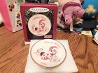 1996 Hallmark Keepsake Disney 101 Dalmatians Collector's Plate  Holiday