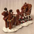 Lemax Carole Towne  Sugar 'N Spice Christmas Gingerbread Village Gingersleigh