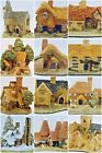 "David Winter Cottages 12 X ""The Main Cottages"" Collection 1981-1985 Mint w COA"