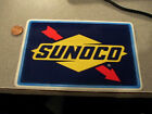 BLUE BORDER SUNOCO NASCAR DECAL STICKER NEW OLD STOCK PERFORMANCE