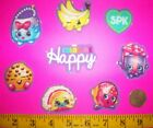 New Cool Shopkins IRON ONS FABRIC APPLIQUES IRON ONS