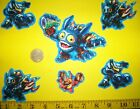 New Cool Skylanders IRON ONS FABRIC APPLIQUES IRON ONS