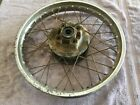 Vintage Honda XL175 XL 175 - 1978 Rear Wheel Rim Hub Original Stock OEM Enduro