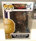 NEW Funko Pop! #236 The Collector (Gold) Guardians Disney Parks w Pop Protector