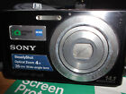 Sony Cyber-shot DSC-W320 14.1MP Digital Camera - Black IN VERY GOOD CONDITION