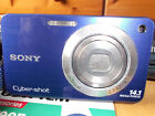 Sony Cyber-shot DSC-W560 14.1MP Digital Camera - Blue