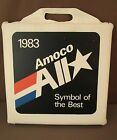 VTG ADVERTISING 1983 AMOCO OIL 'ALL STAR' STADIUM SPORT SEAT VINYL SOFT FOAM